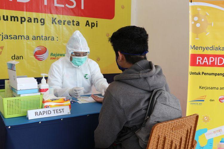 Penurunan Tarif Tes Antigen Di KAI Cirebon Mulai Tanggal 09 April 2021